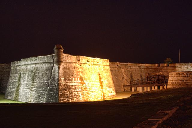 Castillio de San Marco night-1-1